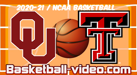 Oklahoma vs Texas Tech 01.02.2021 Basketball Full Game & Highlights