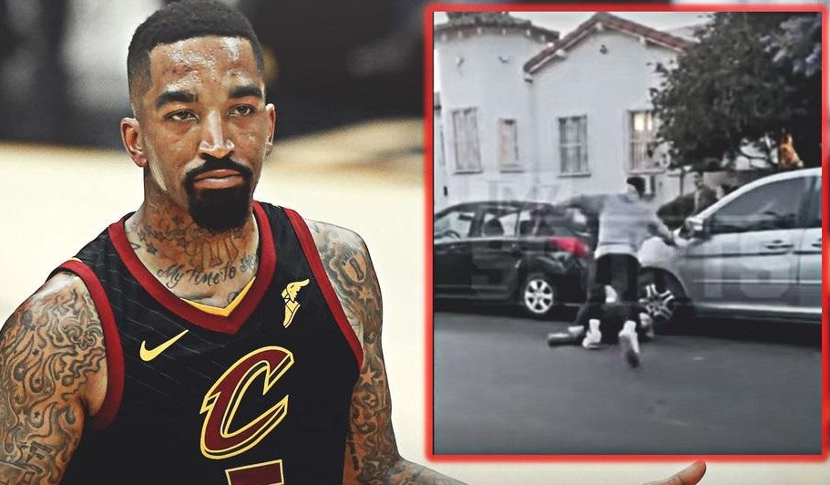 "J. R. Smith: ""One of those damn white boys didn't know where he was and broke the window of my truck."""