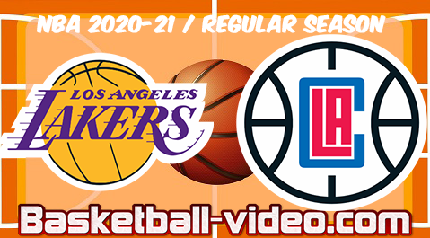 Los Angeles Lakers vs LA Clippers Full Game Replay & Highlights 04.04.2021