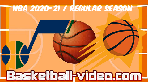 Utah Jazz vs Phoenix Suns Full Game Replay & Highlights 07.04.2021