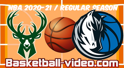 Milwaukee Bucks vs Dallas Mavericks Full Game Replay & Highlights 08.04.2021