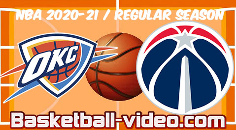 Oklahoma City Thunder vs Washington Wizards Full Game Replay & Highlights April 19, 2021
