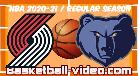 Portland Trail Blazers vs Memphis Grizzlies Full Game Replay & Highlights April 28, 2021