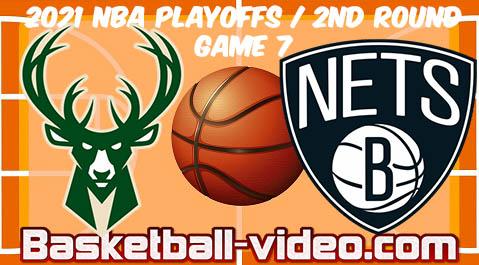 Milwaukee Bucks vs Brooklyn Nets Game 7 Full Game Replay ...