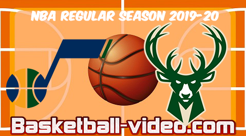 Utah Jazz vs Milwaukee Bucks Full Game & Highlights 25.11.2019