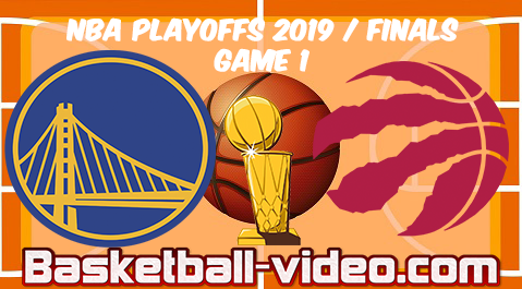 Warriors vs Raptors Game 1 | 2019 NBA Finals