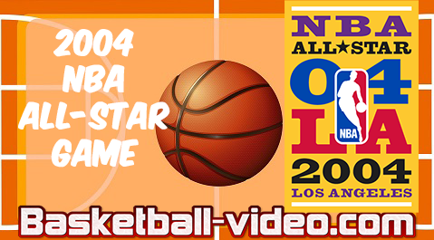 2004 NBA All-Star Game Full Game & Highlights