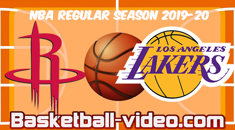 Houston Rockets vs Los Angeles Lakers Full Game & Highlights 06.02.2020