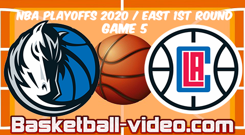Dallas Mavericks vs Los Angeles Clippers Game 5 Full Game Replay & Highlights 25.08.2020