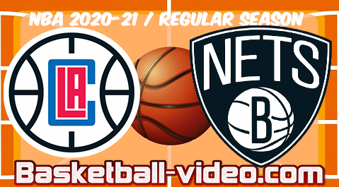LA Clippers vs Brooklyn Nets Full Game & Highlights 02.02.2021