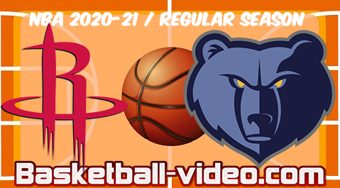 Houston Rockets vs Memphis Grizzlies Full Game & Highlights 04.02.2021