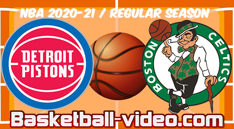 Detroit Pistons vs Boston Celtics Full Game & Highlights 12.02.2021