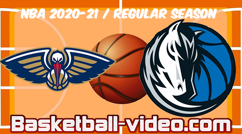 New Orleans Pelicans vs Dallas Mavericks Full Game & Highlights 12.02.2021