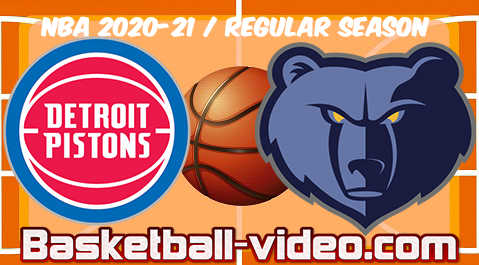 Detroit Pistons vs Memphis Grizzlies Full Game & Highlights 19.02.2021