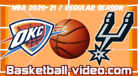 Oklahoma City Thunder vs San Antonio Spurs Full Game & Highlights 04.03.2021