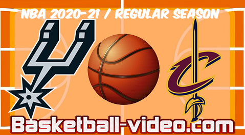 San Antonio Spurs vs Cleveland Cavaliers Full Game Replay & Highlights 19.03.2021