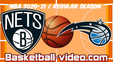 Brooklyn Nets vs Orlando Magic Full Game Replay & Highlights 19.03.2021