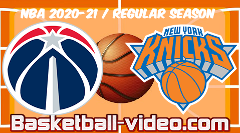 Washington Wizards vs New York Knicks Full Game Replay & Highlights 23.03.2021