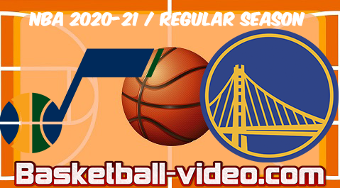 Utah Jazz vs Golden State Warriors Full Game & Highlights 14.03.2021